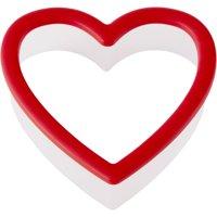 (4 Pack) Wilton Heart Grippy Plastic Cookie Cutter