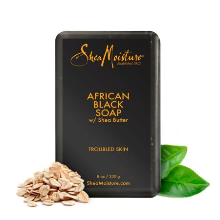 Shea Moisture African Black Bar Soap, 8 oz