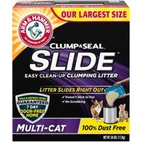 Arm & Hammer SLIDE Easy Clean-Up Litter, Multi-Cat, 38lb