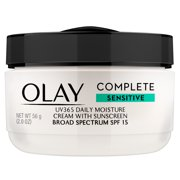Olay Complete Cream Moisturizer with SPF 15 Sensitive Skin, 2.0 oz