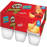 Pringles Snack Stacks! Original Potato Crisps, 0.67 Oz., 12 Count