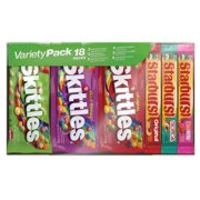 Skittles Starburst Full Size Variety Mix Candy , 36 Oz, 18 Ct