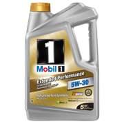 (3 Pack) Mobil 1 5W-30 Extended Performance Full Synthetic Motor Oil, 5 qt.