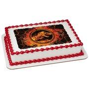 Jurassic World 2 Molten 1 4 Sheet Image Cake Topper Edible Birthday Party