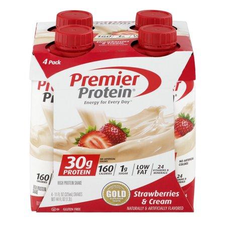 Premier Protein Shakes Strawberries Cream 30g Protein 11 Fl Oz