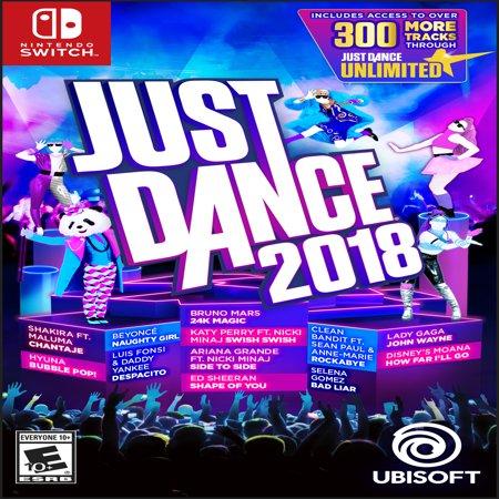 Just Dance 2018, Ubisoft, Nintendo Switch](just dance 2018 wii black friday)