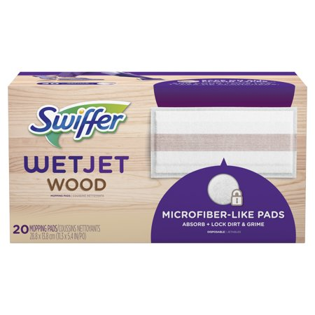 Swiffer WetJet Wood Mopping Pad Refill, 20 Count ()