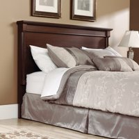 Sauder Palladia Transitional King Headboard, Select Cherry Finish
