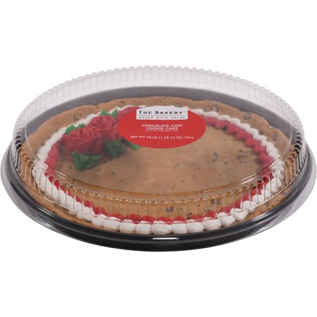 Wal Mart Bakery Pre Decorated Message Chocolate Chip Cookie Cake