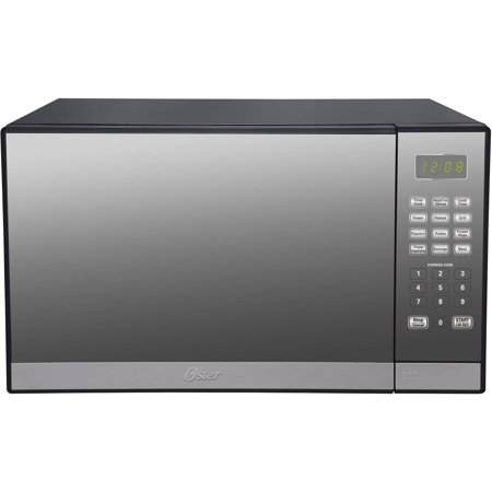 Oster 1.3 Cu. Ft. Stainless Steel with Mirror Finish Microwave Oven with