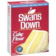(3 Pack) Swans Down Enriched, Bleached Cake Flour, 32 oz
