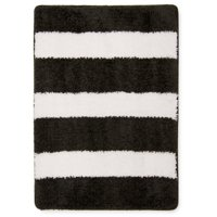 Mainstays True Color Rich Black Memory Foam Bath Rug, 1 Each
