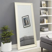 "Naomi Home Framed Mirror-Color:Cream,Size:65"" x 31"""
