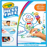 Crayola Color Wonder 30 count Refill Paper