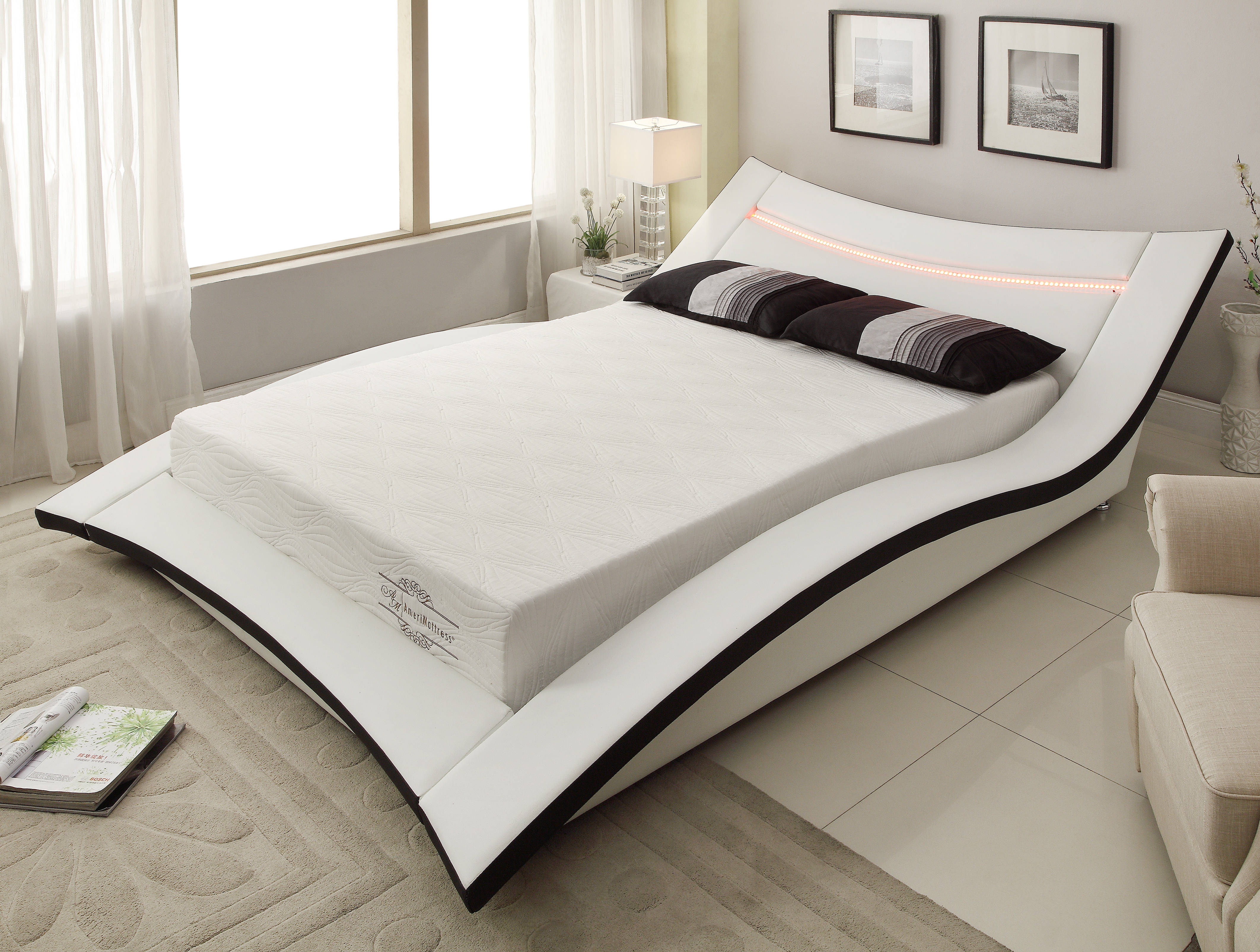California king mattress Waterbed 10inch Gel Infused Memory Foam Mattress With Certipurus Certified Foam Cal Walmart California King Mattresses