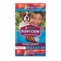 Puppy Chow Tender & Crunchy Dry Puppy Food - 18 lb. Bag