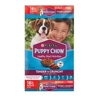 Purina Puppy Chow Tender & Crunchy Dry Puppy Food - 18 lb. Bag
