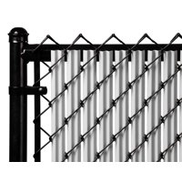 Gray 5ft Ridged Slat for Chain Link Fence