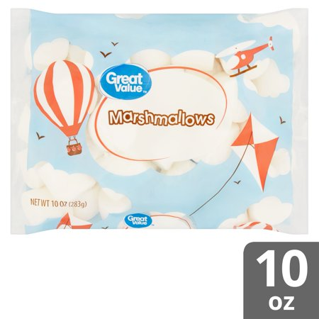 Caramel Covered Marshmallows ((3 pack) Great Value Marshmallows, 10)