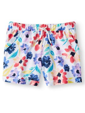 Printed Pull-on Short (Little Girls, Big Girls & Big Girls Plus)