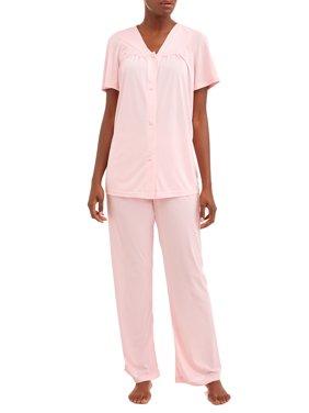 Lissome Women's and Women's Plus 2-Piece Pajama Set