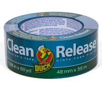 """Duck Brand 2"""" Clean Release Painter's Tape, 60 yds"""