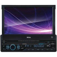 "Boss Audio BVB9967RC Single-DIN DVD Player 7"" Motorized Touchscreen Detach Panel Bluetooth"