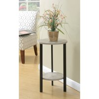 """Convenience Concepts Graystone 24"""" Plant Stand"""