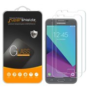 "[2-Pack] Supershieldz Samsung ""Galaxy J3 Prime"" Tempered Glass Screen Protector"