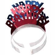(4 Pack) Ways to Celebrate! Happy Birthday Tiaras 4 ct Pack
