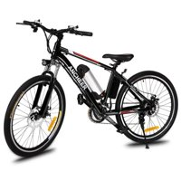 """ANCHEER E-Bike 25"""" Electric Bike Power Plus Mountain Bicycle with Removable Lithium-Ion Battery, Cycling Aluminum Alloy Frame ,Shock absorption,21 Speed System Bike For Adults Boys Girls CYBST"""