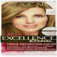 L'Oreal Excellence Triple Protection Permanent Hair Color Creme Dark Blonde [7] 1 ea