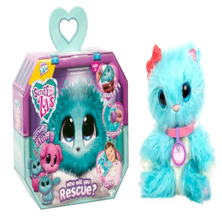 Little Live Scruff-a-Luvs, Blue (Animals That Live In Caves For Kids)