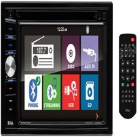 "Boss Audio BV9366B Double DIN DVD/CD/USB/SD Player 6.2"" Touchscreen Bluetooth"
