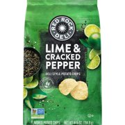 Red Rock Deli Lime and Cracked Pepper Potato Chips, 6.87 Oz.