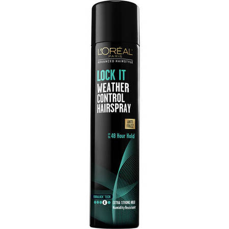 L'Oreal Paris Advanced Hairstyle LOCK IT Weather Control Hairspray 8.25 OZ