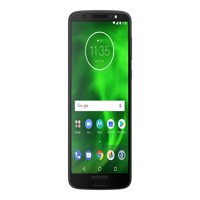 "Motorola Moto G6 - Smartphone - 4G LTE - 32 GB - microSDXC slot - CDMA / GSM - 5.7"" - 2160 x 1080 pixels - IPS - RAM 3 GB - 12 MP (8 MP front camera) - Android - Verizon - black"