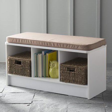 - ClosetMaid 3-Cube Bench, Multiple Finishes
