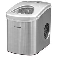 Frigidaire 26 lb. Compact Ice Maker EFIC117-SS, Stainless Steel