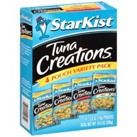 (12 Pouches) StarKist Tuna Creations Variety Pack, 2.6 oz (Multiple Flavors)