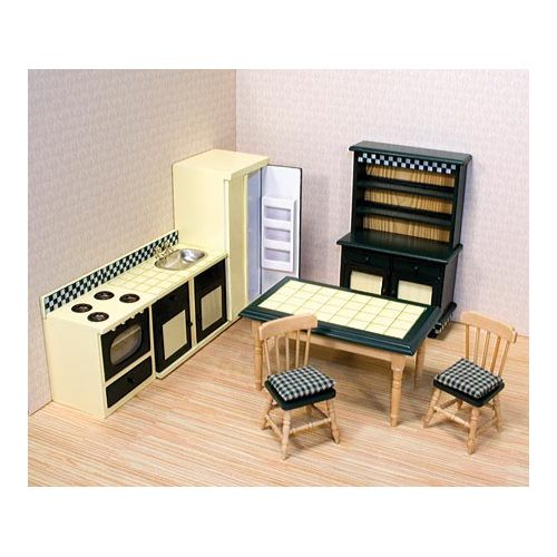Dollhouse Kitchen Cabinets