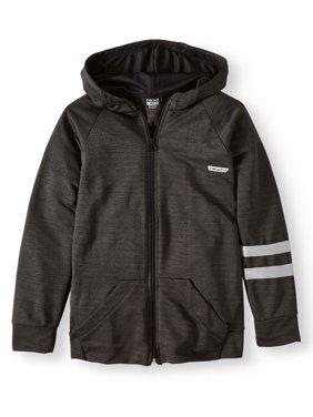 Zip Up Performance Hoodie Jacket (Big Boys)