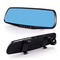 1080P Car DVR Rearview Mirror Camera Video Recorder Dash Cam G-sensor 2.8 inch LED