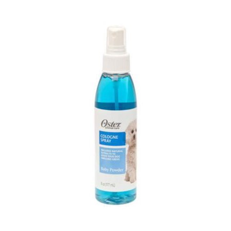 Oster Dog (Oster Cologne Spray For Dogs, Baby Powder, 6 Oz )