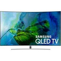"""SAMSUNG 75"""" Class Curved 4K (2160P) Ultra HD Smart QLED HDR TV (QN75Q8CAMFXZA)"""