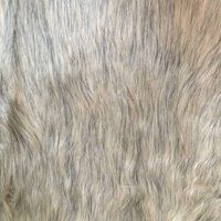 SHASON TEXTILE LUXURY FAUX FUR WOLF - LONG PILE, GRAY