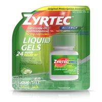 Zyrtec 24 Hour Allergy Relief Antihistamine Capsules, 40 ct
