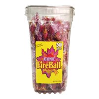 Atomic Fireball, Cinnamon Hard Bulk Candy, 65 Oz, 240 Ct