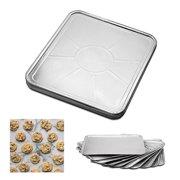 7fc78b8b201 100 Pc Disposable Aluminum Foil Pans Oven Tray Table Baking Pan Kitchen  Bakeware
