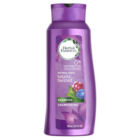 Herbal Essences Totally Twisted Curly Hair Shampoo with Wild Berry Essences, 23.7 fl